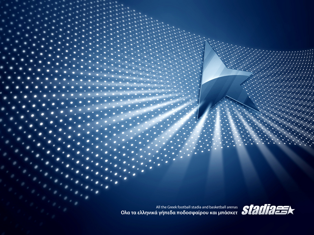 wall paper blue:
