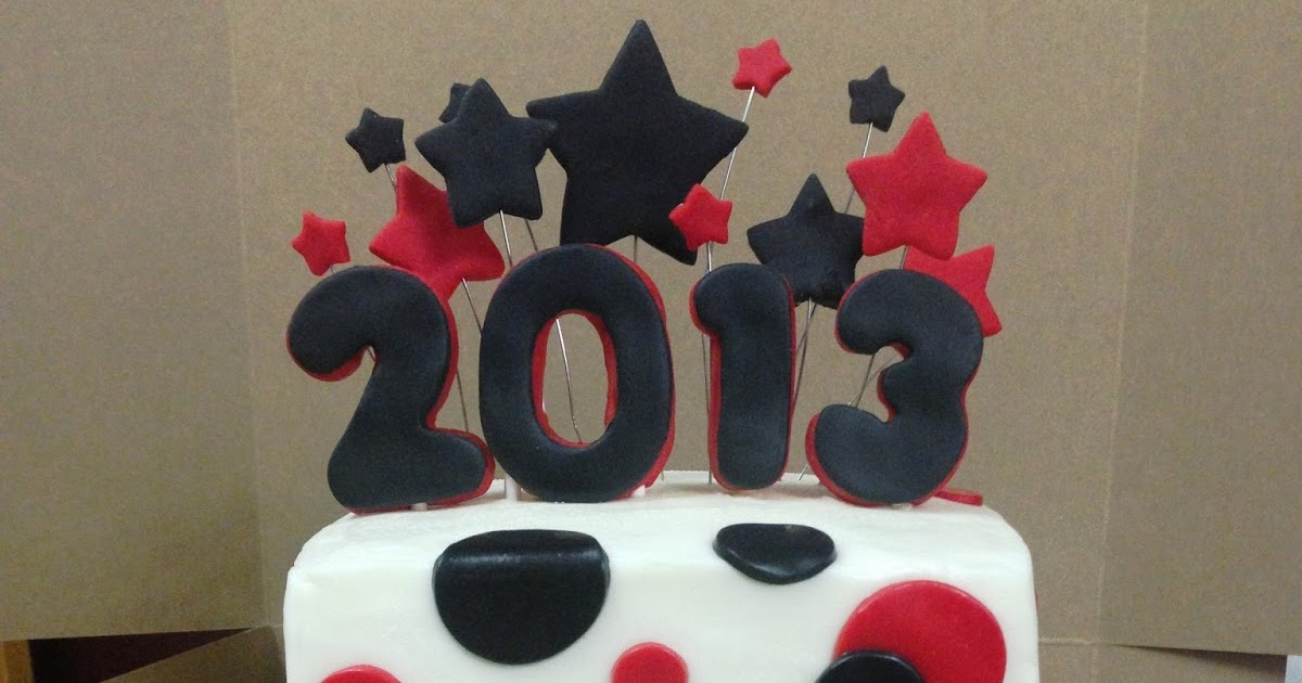 Cakes By Mindy Polka Dots And Stars Graduation Cake 6 Quot Amp 8 Quot