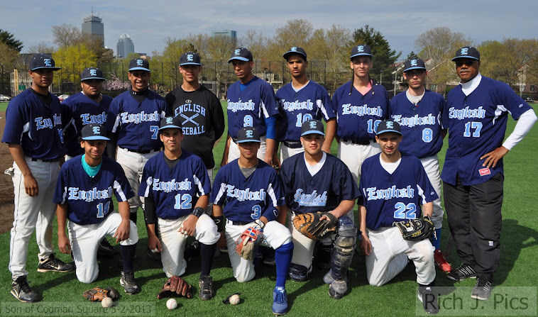 2013 Boston English Baseball Team!