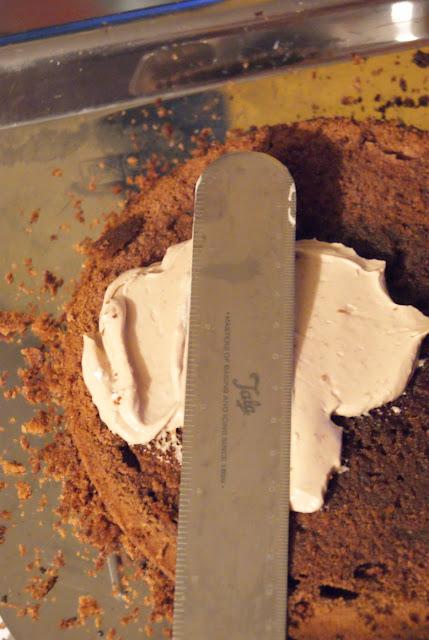Łopatka Kątowa do przekładania tortów