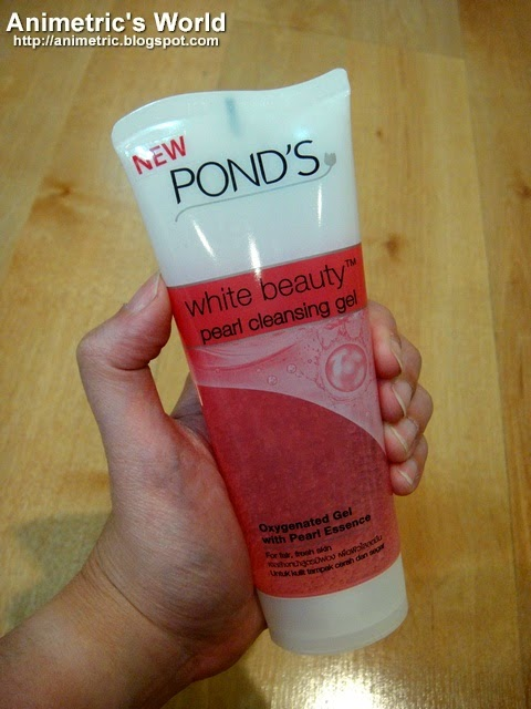 Ponds Pearl Cleansing Gel Review