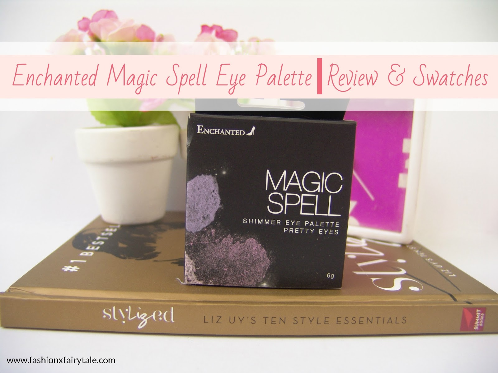 Enchanted magic spell eye palette review swatches for How do you spell pallets