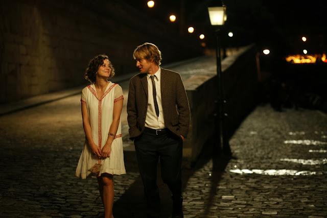 Pariste Gece Yarısı filmi, Adriana ve Gil'in sahnesi, Marion Cotillard, Owen Wilson