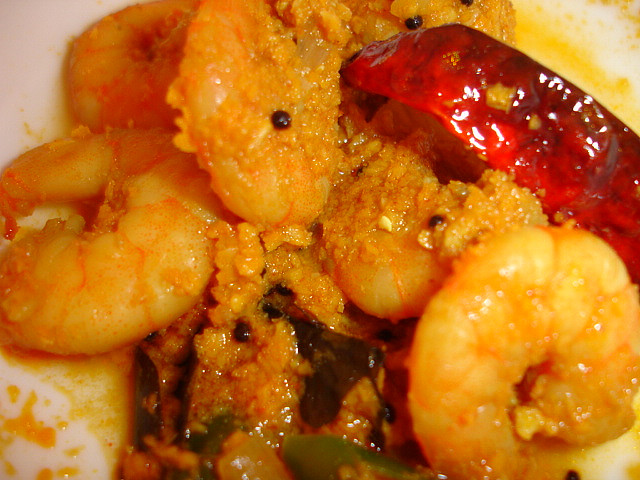 Langostinos al curry Thermomix