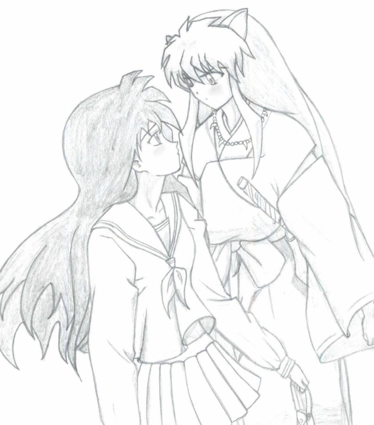 inuyasha and kagome kids