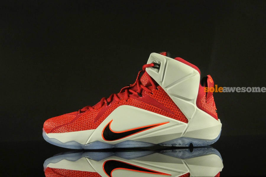5afdd4663778 Nike LeBron XII (12) Red White  Lion Heart