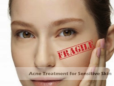 acne treatment for sensitive skin