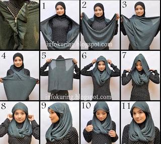 Jilbab Modern Terbaru 2013