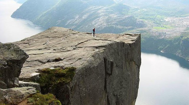 acantilados de Noruega