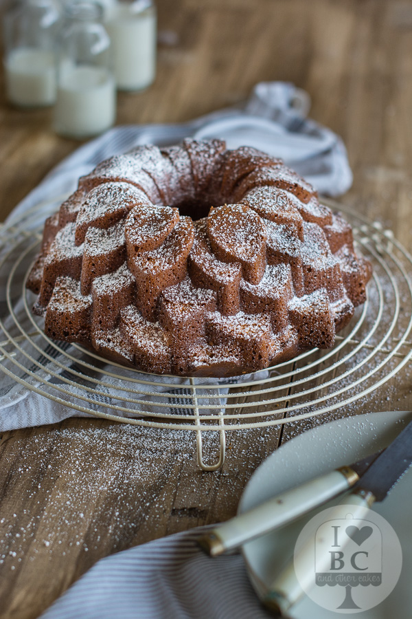 Lime Curd & coconut Bundt Cake