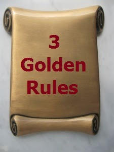 3 Golden Rules by Rohan Chaubey.
