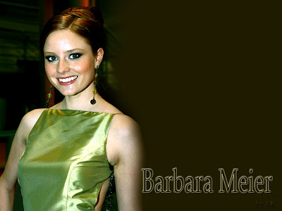 German Fashion Model Barbara Meier Wallpapers