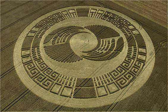 Vesica Piscis en Crop Circles