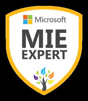 Microsoft Innovative Educator Expert MIEExpert 2016/2017