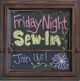 Grab the Friday Night Sew In (FNSI) button