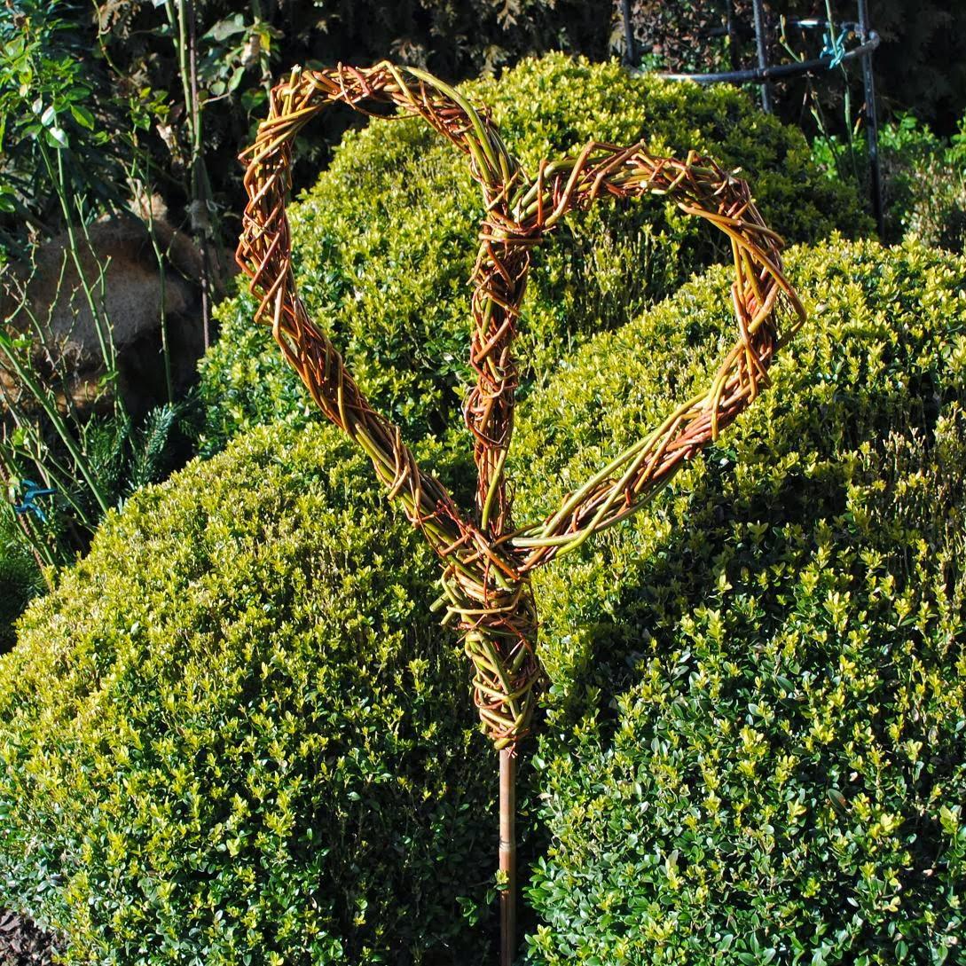 Gartendeko Aus Weidengeflecht, gartendeko-blog, Design ideen