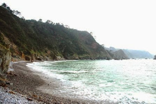 Playa del Silencio, vista de la zona occidental