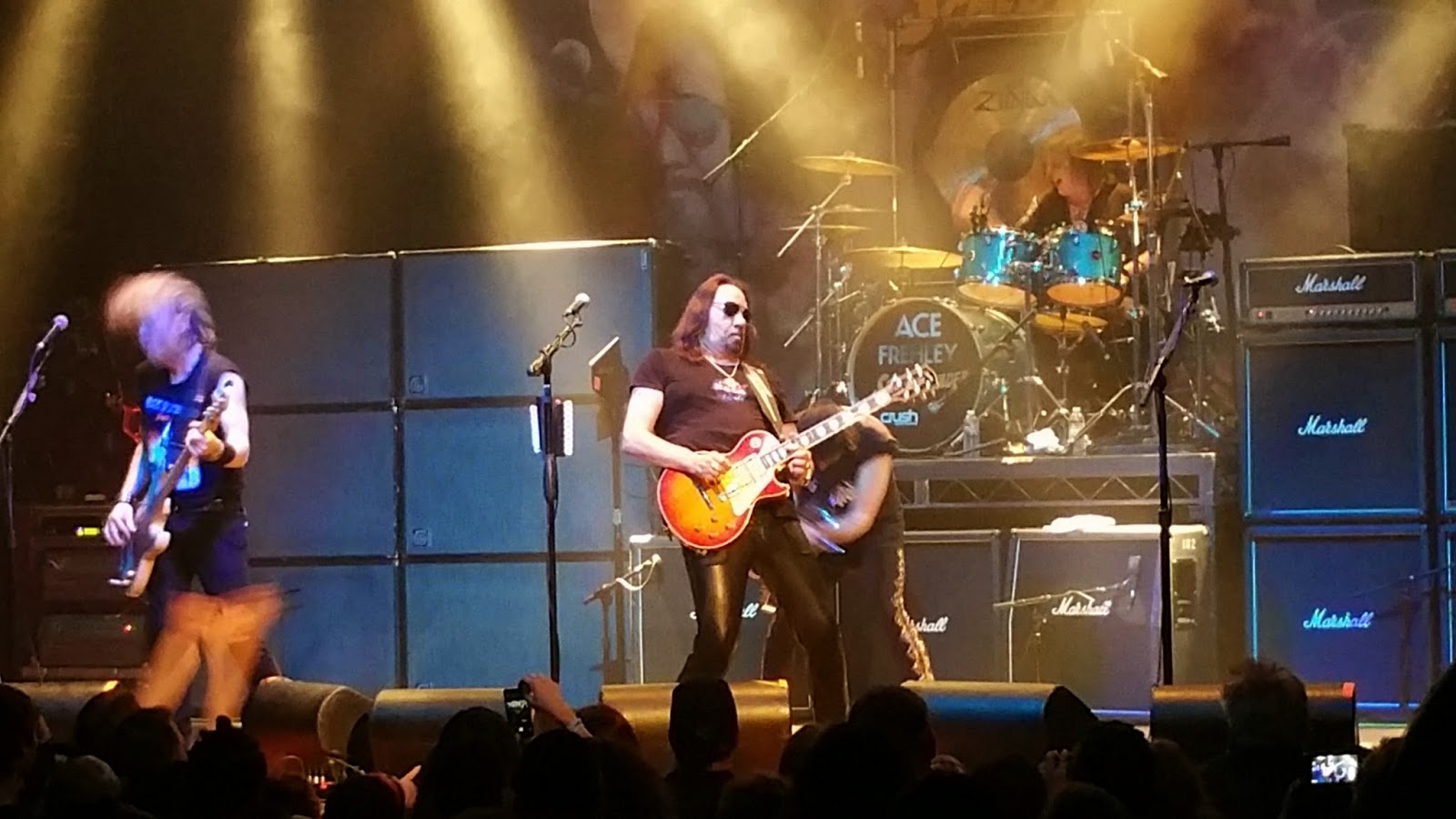 Ace frehley invades anaheim an ace frehley show review decibel the meet and great finally got rolling at 930 a full two hours since we were told to be at the venue and over an hour since we lined up inside kristyandbryce Choice Image