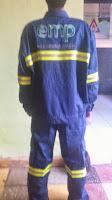 COVERALL FIRE RETARDANT COTTON 100%