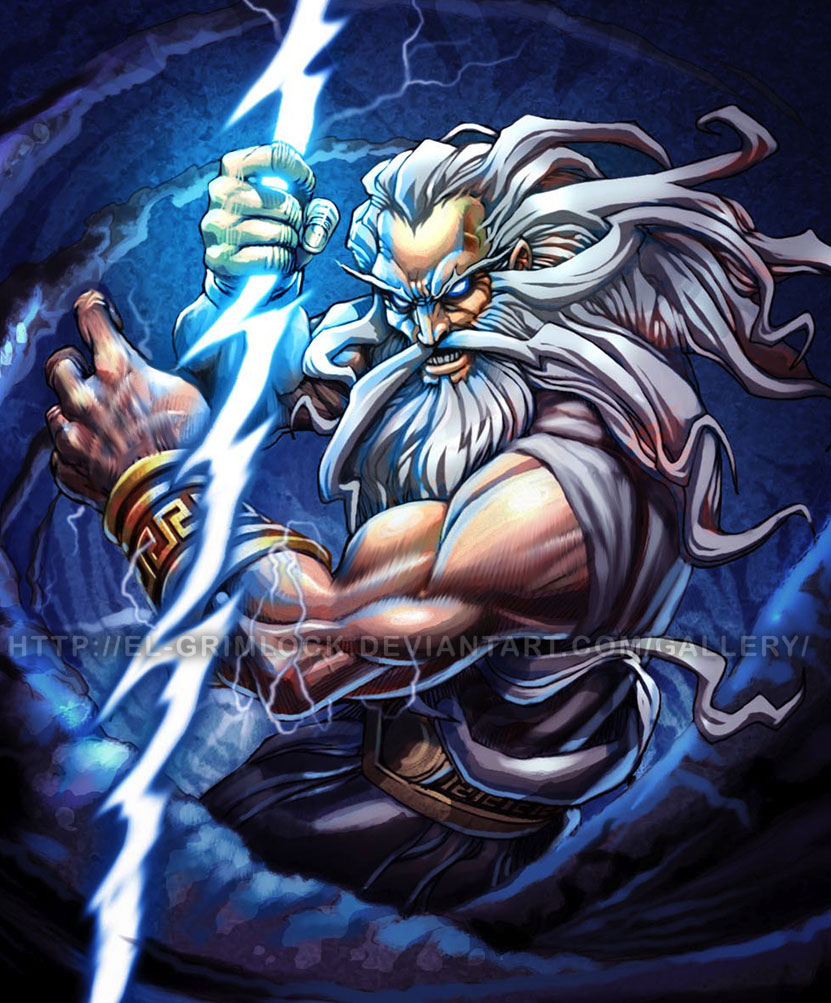zeus the god of lightning Zeus is the true antagonist in the god of war series he's the god of lightning, and the king of olympus he's also the father of kratos during the reign of the titans, cronos was told of a.