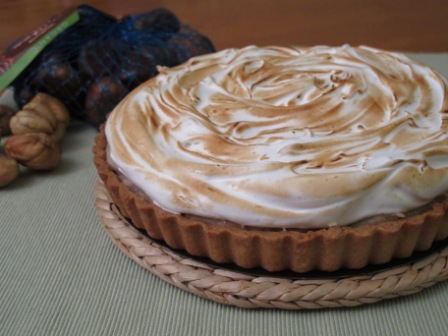 chestnut pie with rum cream chestnut chocolate chestnut cream ...