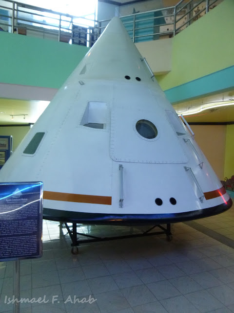 Replica of Apollo 11 Command Module in PAF Aerospace Museum
