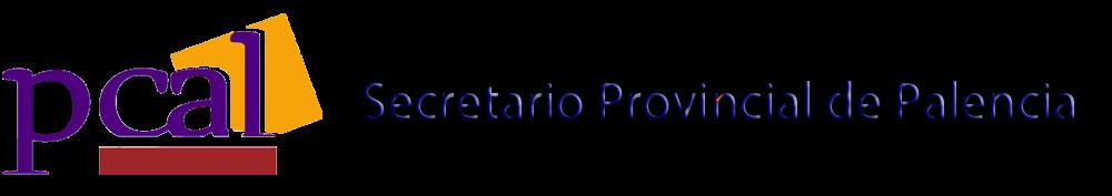 Pcal Palencia: Secretario Provincial