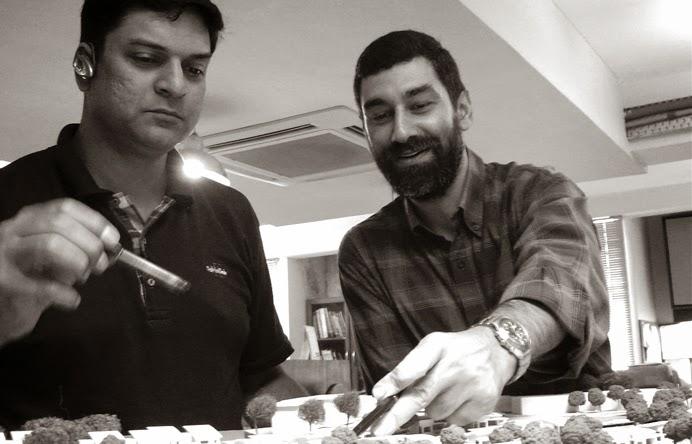 Aashish V. Karode and Sushil L. Karer, Principals, Design Atelier