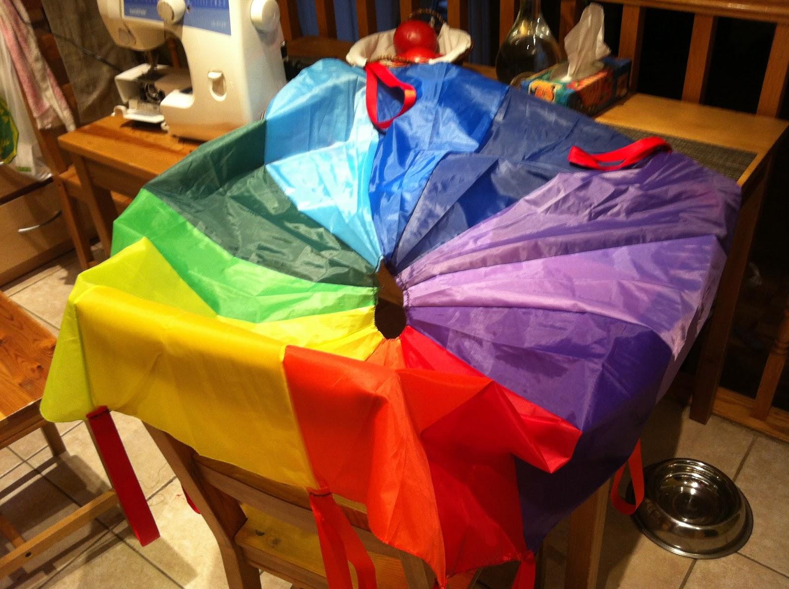 Игрушечный парашют » Сделай сам своими руками 98