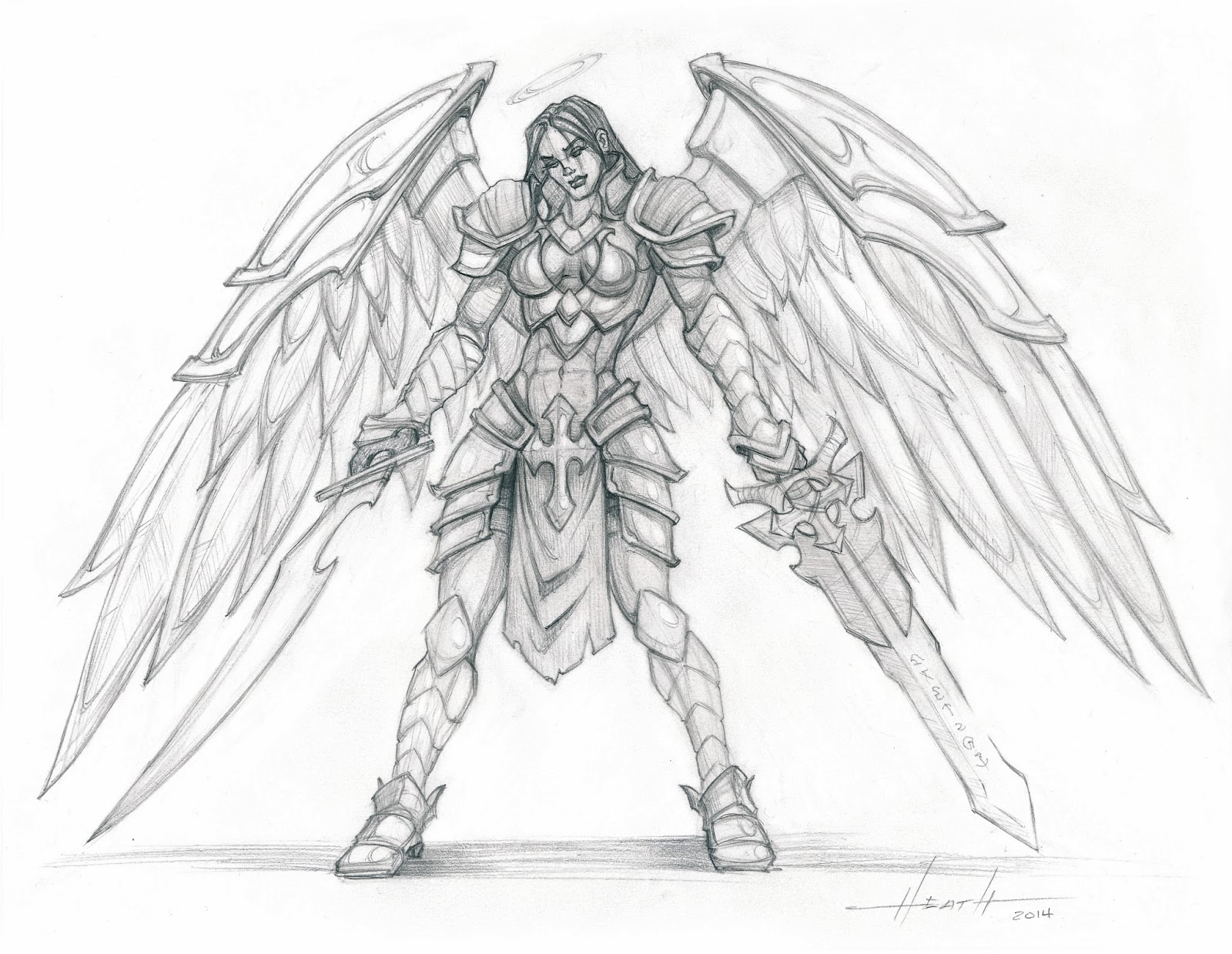 Displaying 20> Images For - Darksiders 2 Drawing...