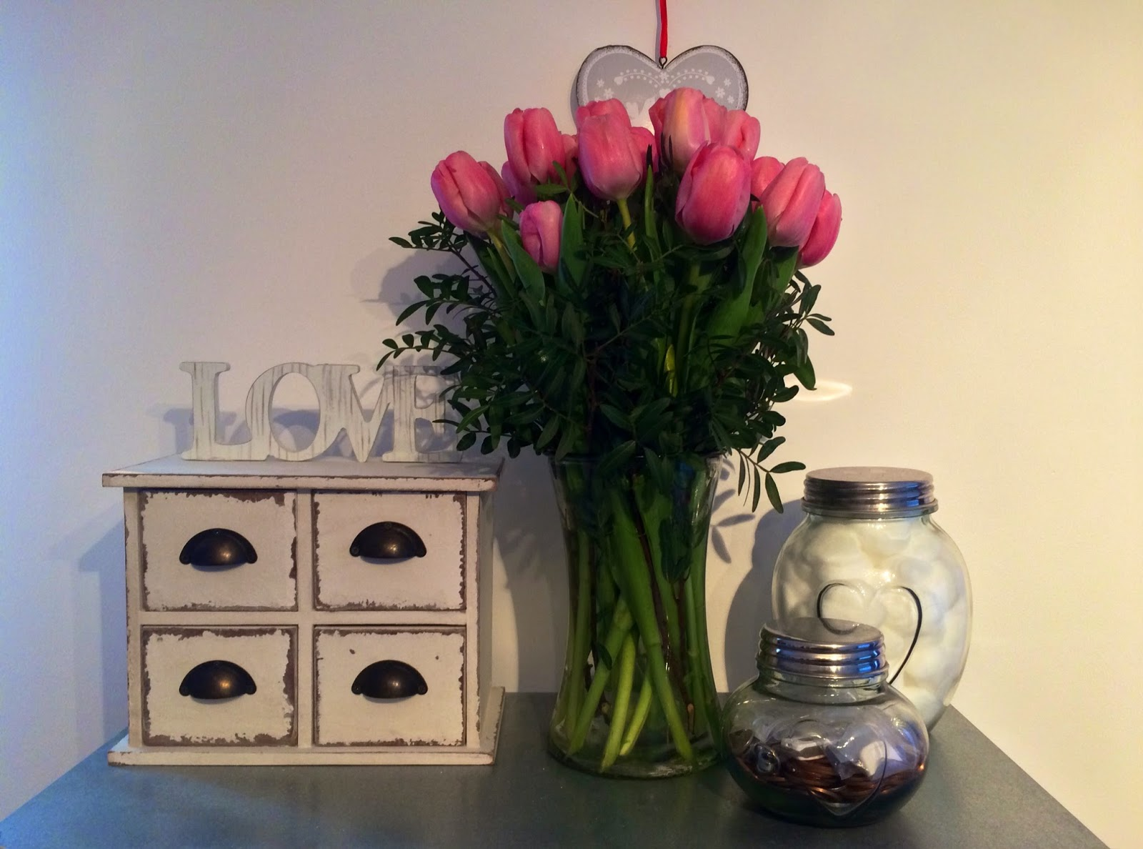 Pink Tulips and Homeware - Bearded Couture