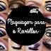 Maquiagem para Revéillon: Combinando cores