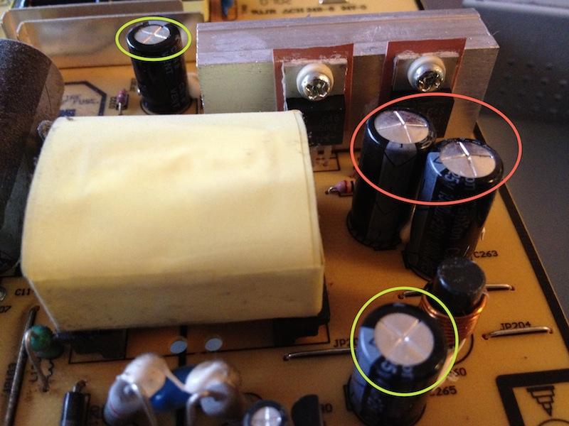 Condensateurs goNFlés