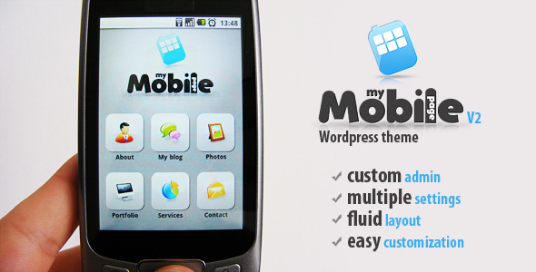 Image for My Mobile Page V2 Theme by ThemeForest