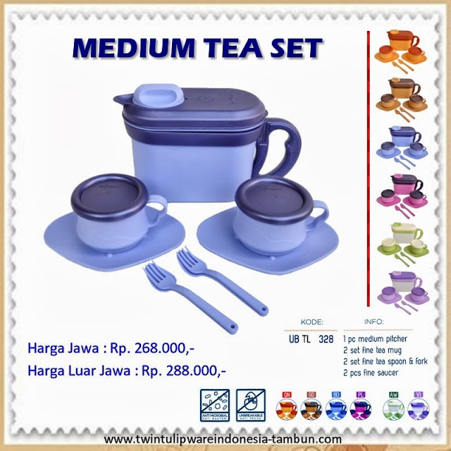 Medium Tea Set Tulipware 2013