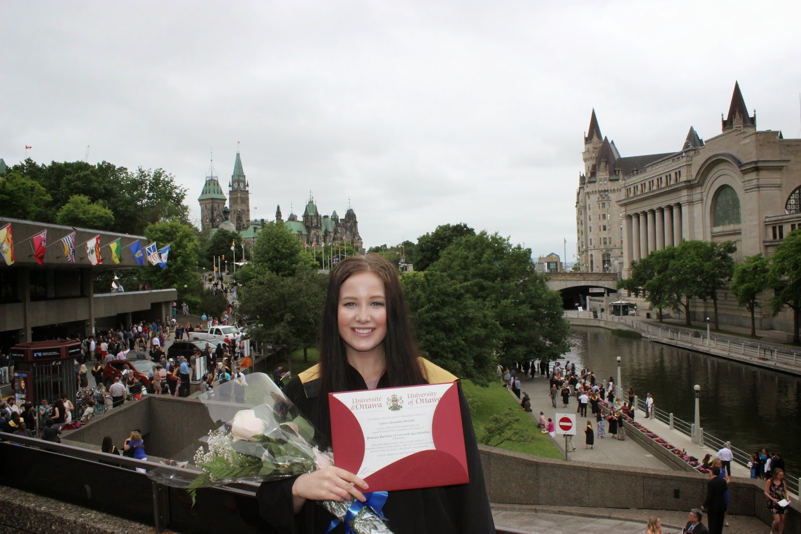 Graduation Ceremony and Parliament Hill