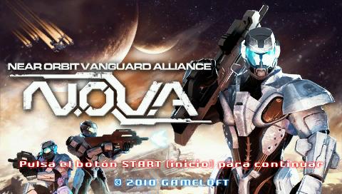 N.O.V.A. - Near-Orbit Vanguard Alliance PSP