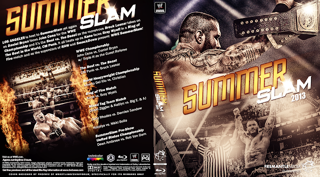 Capa Bluray WWE Summer Slam 2013