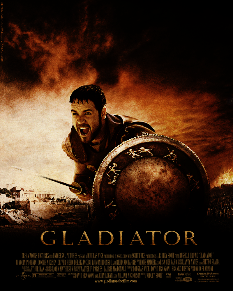 film review of gladiator Gladiator - 4k ultra hd blu-ray  for another look at gladiator as a film,  as we write this review, gladiator does not appear to be available to stream in 4k,.