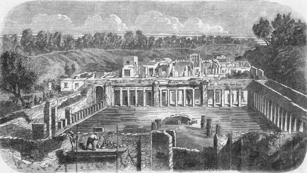http://www.antiquaprintgallery.com/italy-excavations-pompeii-ruins-palace-of-diomede-1859-106942-p.asp