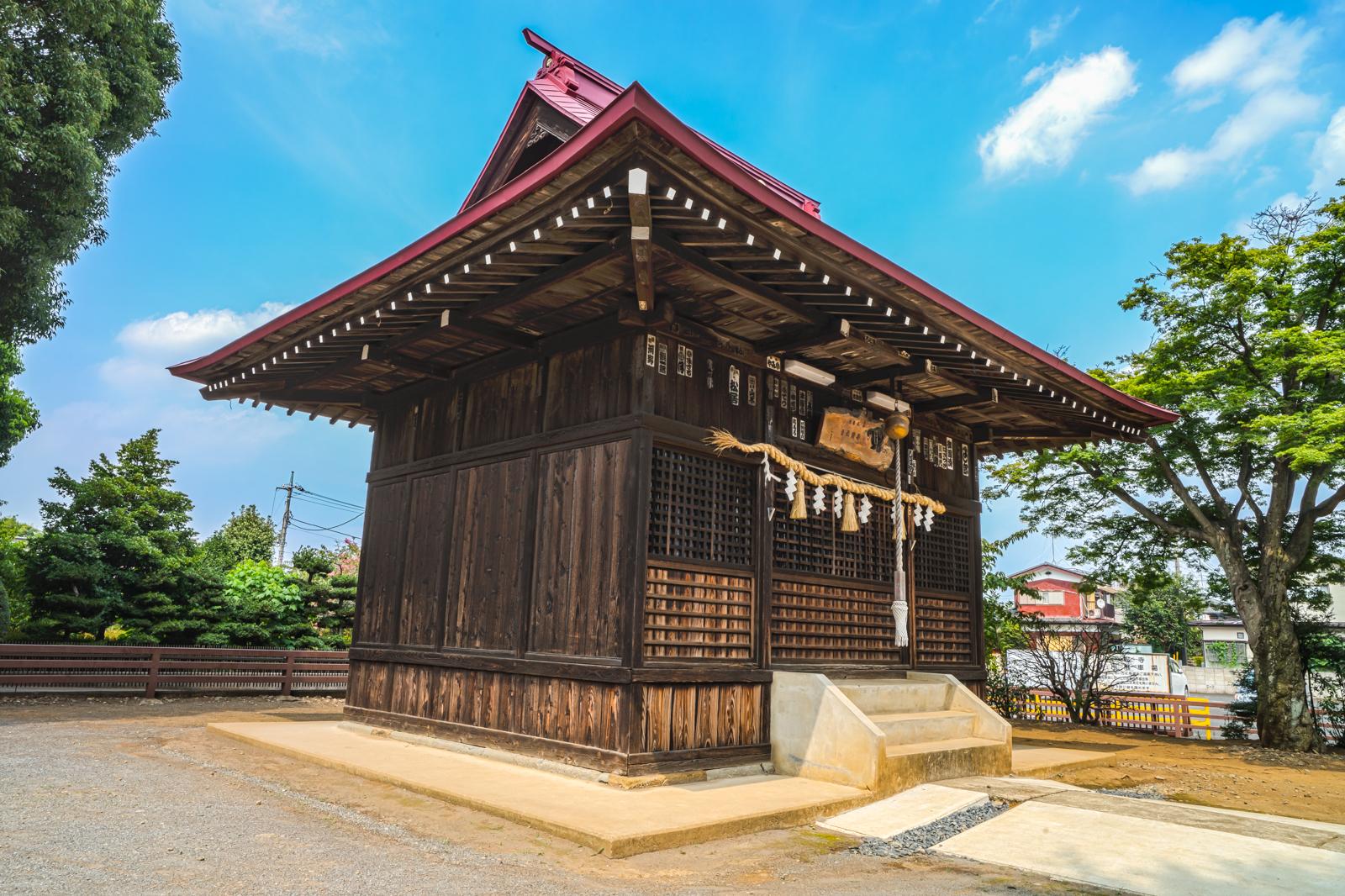 東村山市、八坂神社の写真