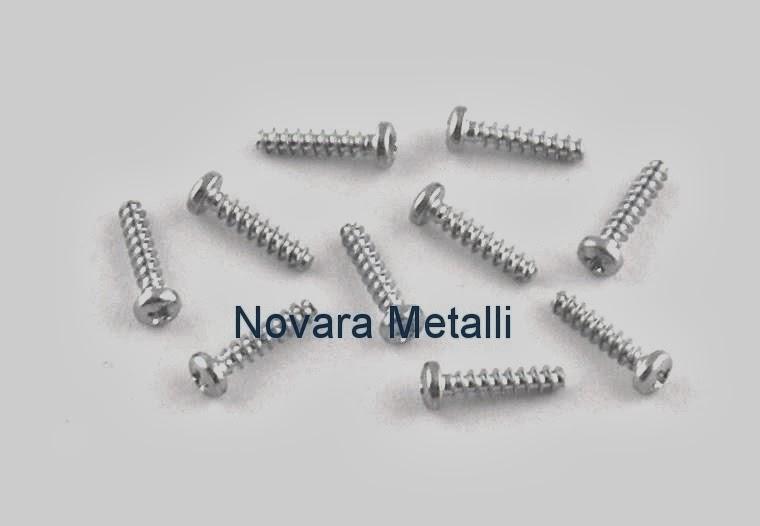 Viti AUTOFILETTANTI per PLASTICA - Novara Metalli