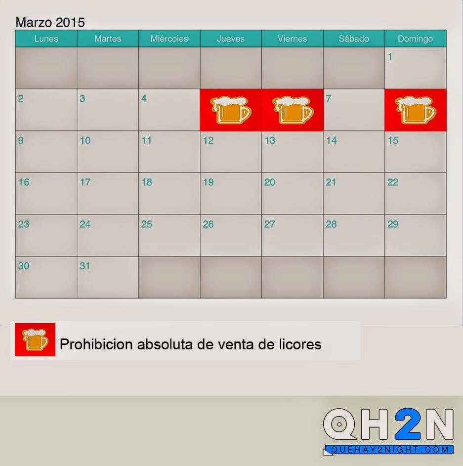 ley seca semana santa 2015 horario venta de licores venezuela
