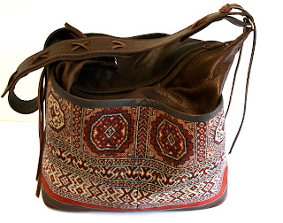 handmade carpet bag