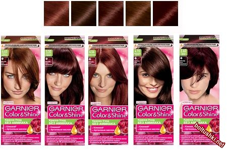 Палитра Color Shine с медным оттенком