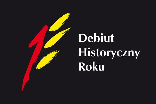 Logo IX edycji konkursu na Najlepszy Debiut Historyczny Roku