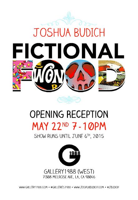 Joshua Budich, Fictional Food, cultura pop, comida, food