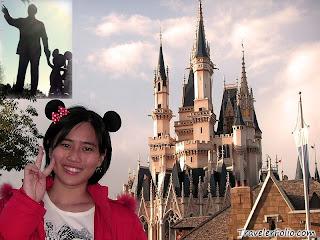 Tokyo Japan Disneyland Castle