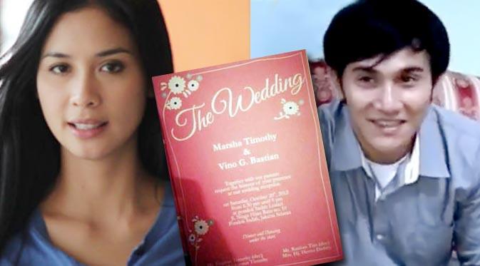 Vino Bastian dan Marsha Timothy Akan Menikah 20 Oktober - Sembunyi ...