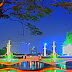 7 Night Landmark Photos of Surabaya